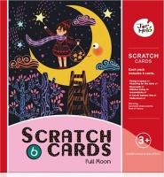 jarmelo scratch card set full moon art supply
