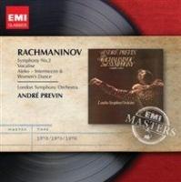 rachmaninov symphony no 2vocalise rmst rpkg music cd