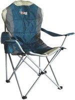 afritrail roan padded high back chair 130kg camping
