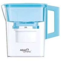 aqua optima water jug 21lt and 30 day filter compact blue health product