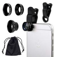 raz tech universal 3 in 1 camera lens kit for smartphones electronic