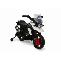 jeronimo bolt motorbike white black baby toy