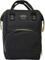 fine living mami backpack black nappy changing