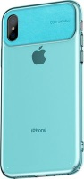 baseus comfortable shell case for apple iphone xs max blue cellular accessory