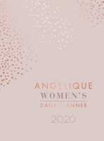angelique du toit womens daily planner 2020 leather fine other