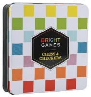 chronicle books bright games chess and checkers game learning toy