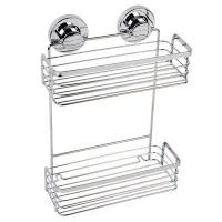 naleon ultimate two tier rectangular basket bathroom accessory