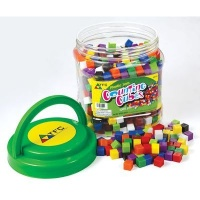 Teachers First Choice Cubes 1cm Counting Plastic