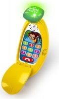 bright starts lights light baby giggle and ring phone musical toy
