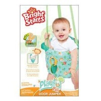 bright starts pondside pals door jumper pram stroller