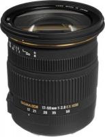 canon sigma 17 50mm f28 camera len