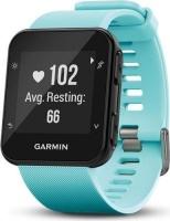 garmin forerunner 35 gps running watch frost blue gp