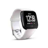 fitbit versa fitness smartwatch white and black gp