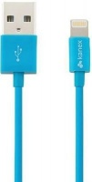 kanex charge and sync lightning cable 12m blue computer