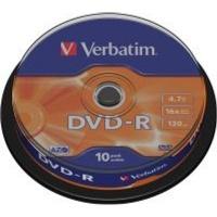 verbatim azo 16x dvd r 10 pack on spindle computer