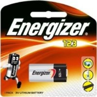 energizer lithium 123 photo 3v battery