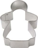 wilton gingerbread girl cookie cutter silver other kitchen appliance