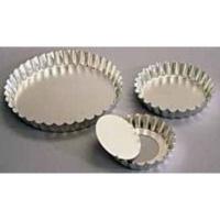 kaiser bakeware quiche fluted loose bottom 8cm silver other kitchen appliance