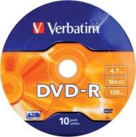 verbatim dvd r matt silver 16x on spindle 10 pack computer