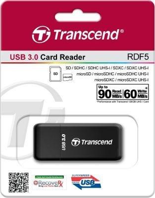 Photo of Transcend USB 3.0 Card Reader