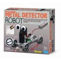 4m kidz labs metal detector robot learning toy