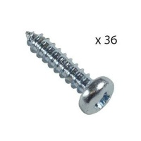12 small steel screws inx 4mm for flexi plates art supply