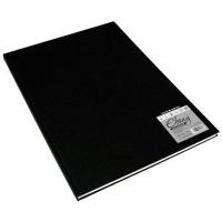 daler rowney ebony hardback sketchbook portrait a3 150gsm craft supply