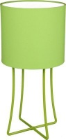 fundi lighting jasper table lamp set cotton lime green lighting ceiling fan