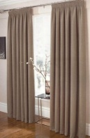 ecology self lined taped curtain 225x218cm harrisontaupe bath towel