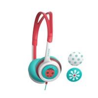 ifrogz little rockerz kids coral headphones earphone