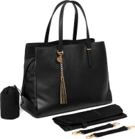 baby sense mom and bag melaine black bag