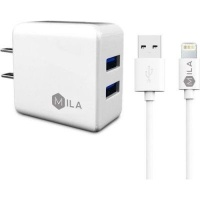 port dual wall charger lightning cable tablet accessory