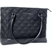 kingsons vogue ladies tote bag for 156 notebooks black