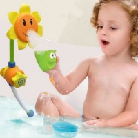 4akid sunflower bath toy baby toy
