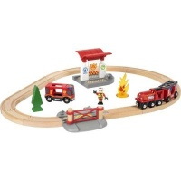 brio firefighter set electronic toy