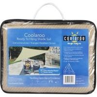 coolaroo ready hang shade sail 36m triangle pools hot tubs sauna