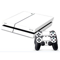 skin nit decal for ps4 white ps4 accessory
