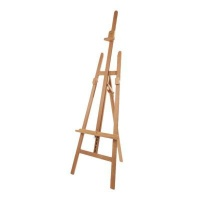 mabef m13 sienna studio easel height 89 inch maximum canvas art supply