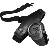 volkano active wristwatch with chest strap heart rate gp