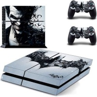 skin nit decal for ps4 batman arkham origins joker ps4 console