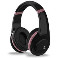 4gamers ps4 rose gold edition stereo gaming headset black ps4 accessory