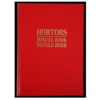 hortors minute book 200pg other