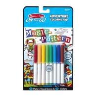 melissa and doug magic pattern adventure coloring pad arts craft