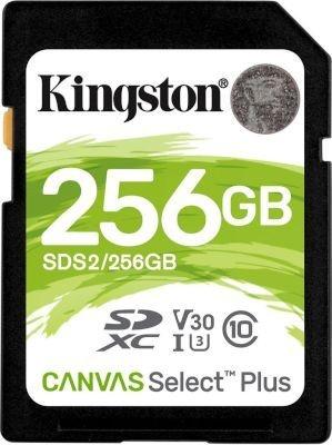 Photo of Kingston Technology Canvas Select Plus memory card 256GB SDXC Class 10 UHS-I exFAT UHS-I 3.3 V