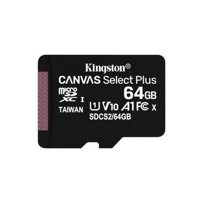 Photo of Kingston Technology Canvas Select Plus memory card 512GB SDXC Class 10 UHS-I exFAT UHS-I 3.3 V