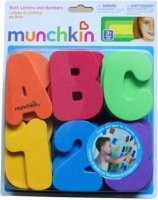 munchkin bath letters and numbers baby toy