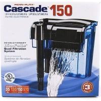 penn plax cascade 150 hang on power filter 570lhour
