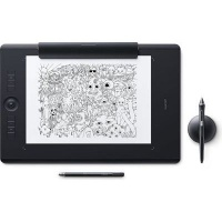wacom intuos pro paper edition tablet large black accessory