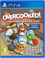 overcooked gourmet playstation 4 blu ray disc gaming merchandise