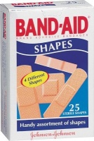 band aid plastic shapes 25s health product